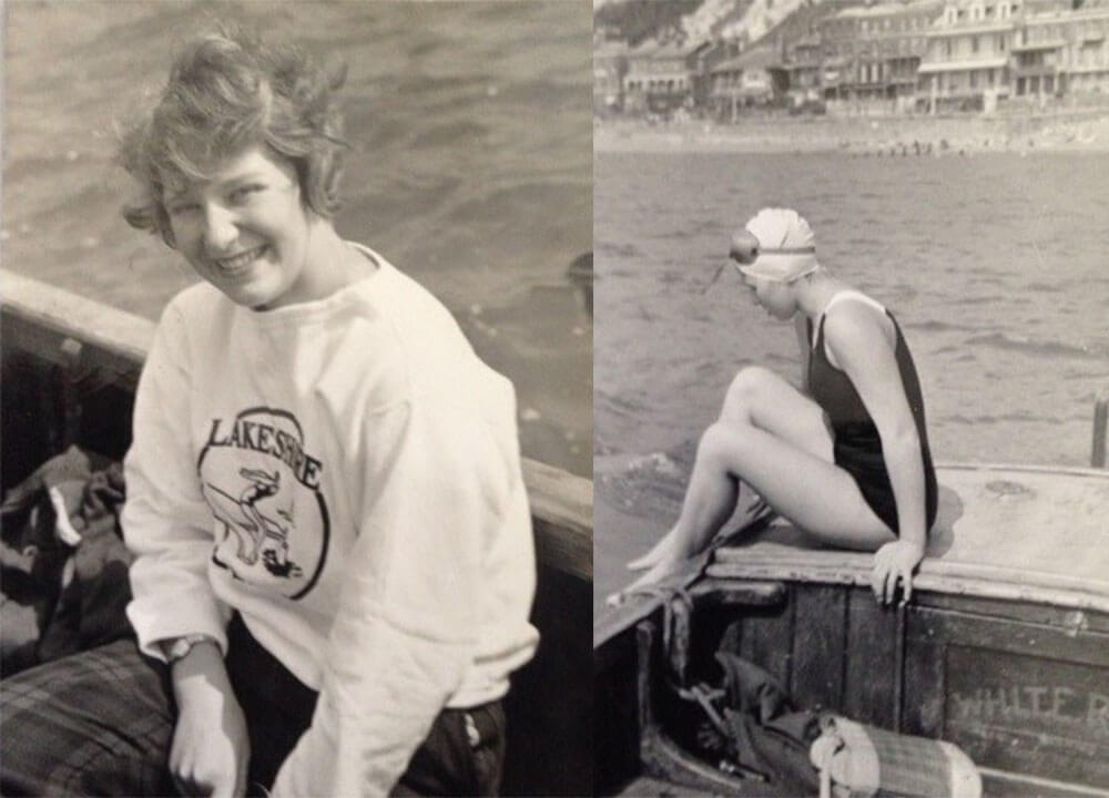 Marilyn Bell open water swimmer ishof