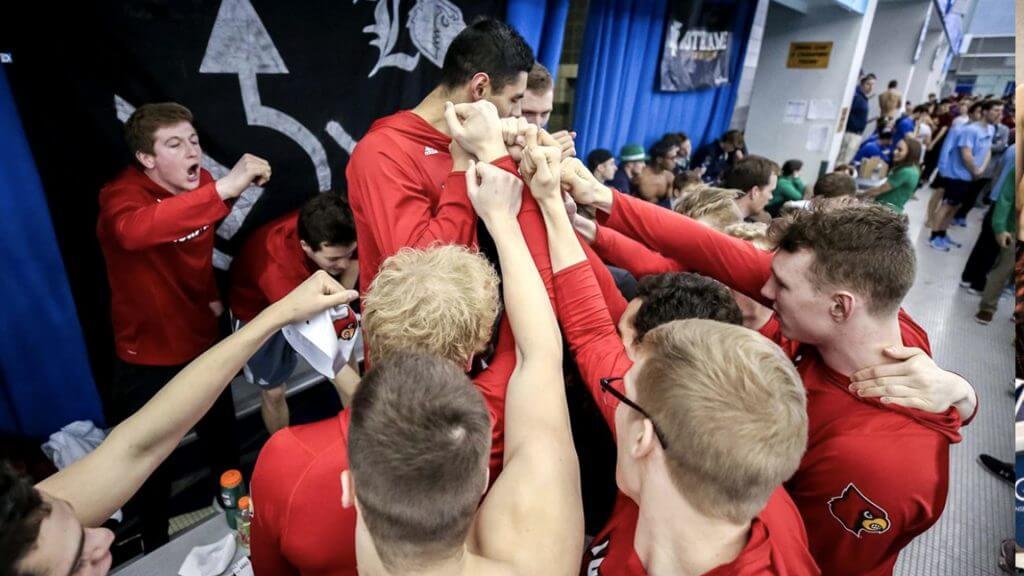 louisville cardinals team cheer acc