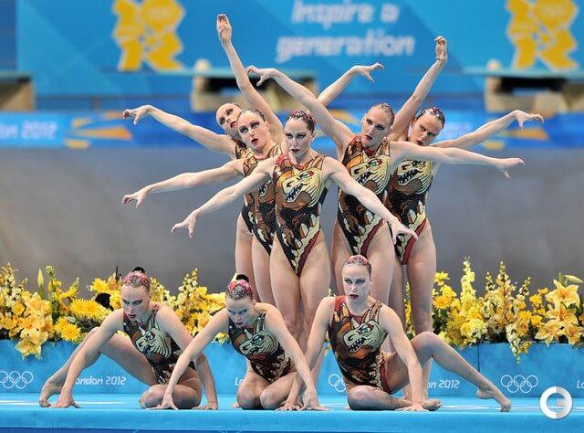 Elvira-Khasyanova-russia-2012-Olympic-team-pool-side-ISHOF