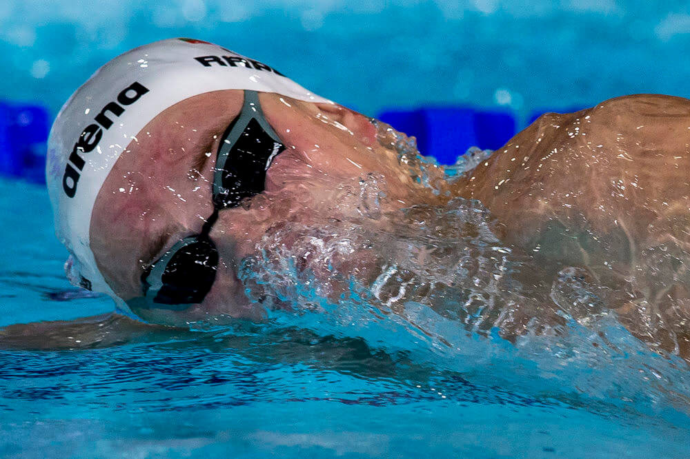 Danas RAPSYS of Lithuania on his way winning in the men's 400m Freestyle Final during the 20th LEN European Short Course Swimming Championships in Glasgow, Great Britain, Wednesday, Dec. 4, 2019. (Photo by Patrick B. Kraemer / MAGICPBK)