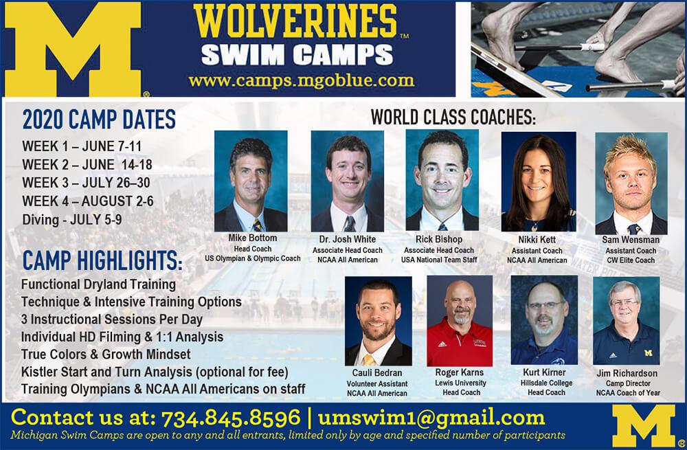 university-of-michigan-wolverine-2020-swim-camp-ad