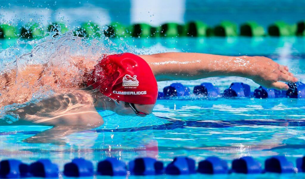 David Cumberlidge in action at the 2018 Gold Coast Commonwealth Games - Photo Courtesy: Team England