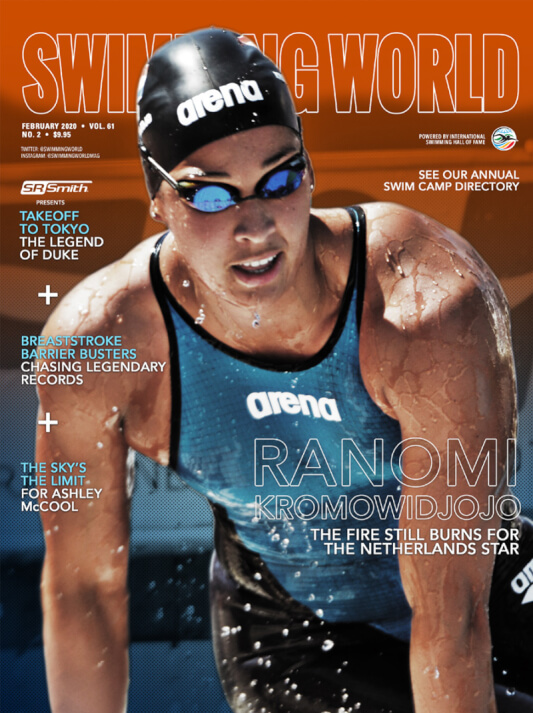 Swimming World Magazine February 2020 Issue - PDF ONLY - Cover