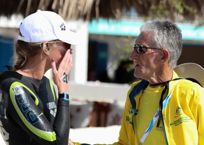Kareena Lee and JR in Doha