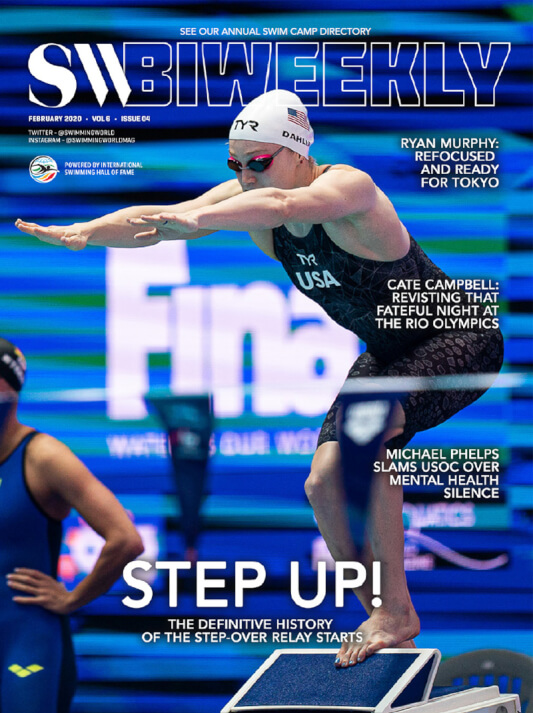 SW Biweekly - The Definitive History Of Step-Over Relay Starts On The Wedge - Cover