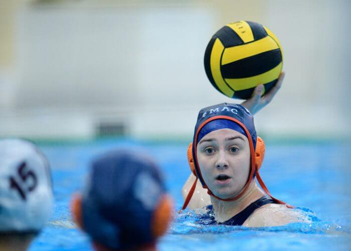 2019 - Macalester College Water Polo hosts University of Redlands