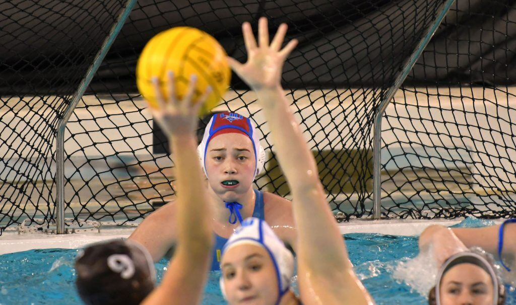 LIU Women's Water Polo vs Brown University. - Photo By: KEITH NORDSTROM