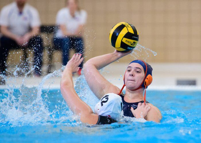 2019 - Macalester College Water Polo hosts Monmouth