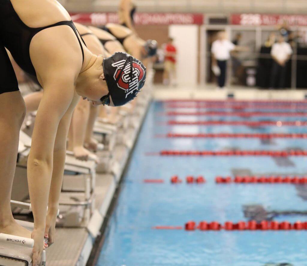 ohio state buckeyes dive start focus
