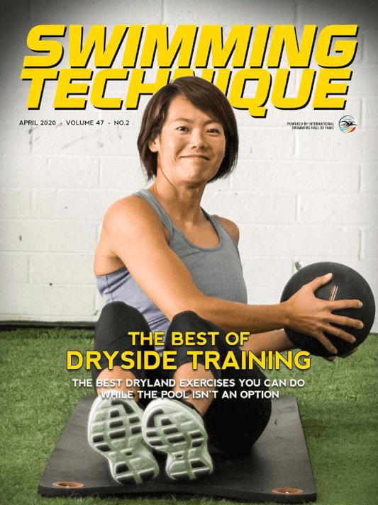 Swimming Technique April 2020 Issue - Cover