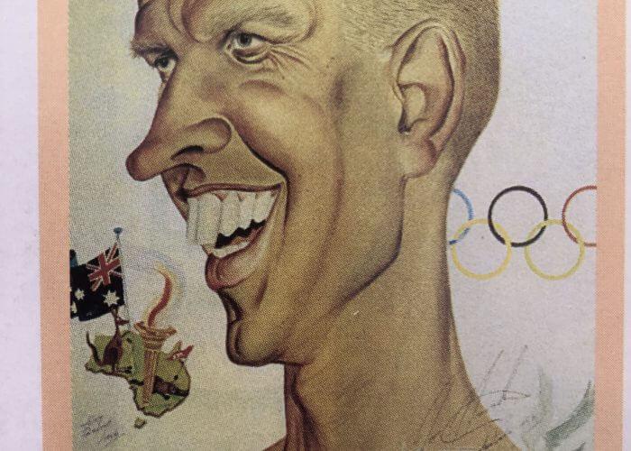 Jon Henricks caricature 2