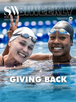 SW Biweekly - 5-7-20 - Giving Back - Olivia Smoliga and Lia Neal Inspiring Swimmers From Their Hometowns
