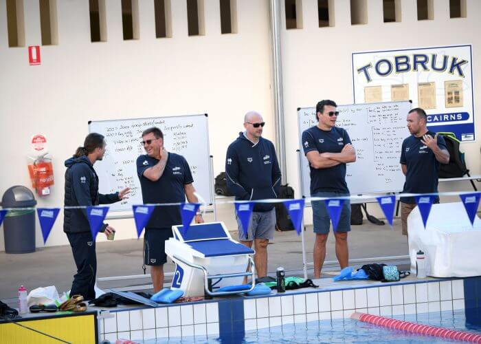 Jacco and coaches