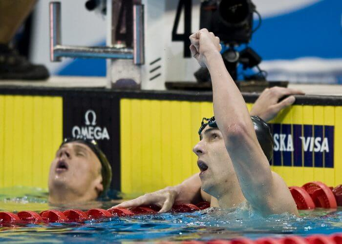 Individual Medley - Lochte and Phelps