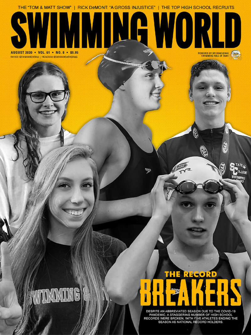 SW August 2020 The Record Breakers - Cover