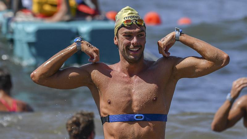 Gregorio Paltrinieri open water