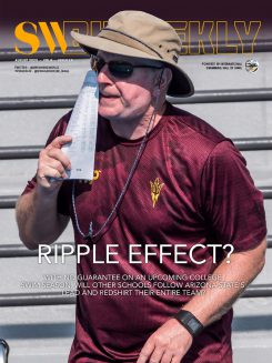 SW Biweekly 8-7-20 Cover - Ripple Effect - Arizona State Redshirts Their Entire Team
