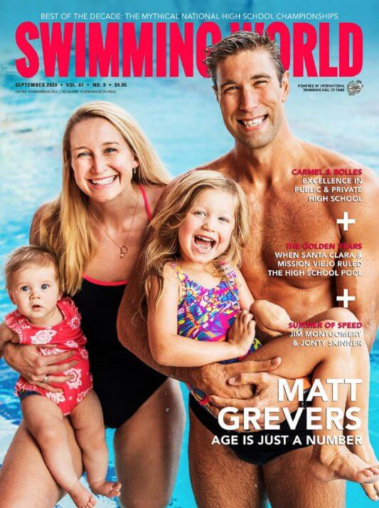 SW September 2020 Cover - Matt Grevers - Age is Just a Number