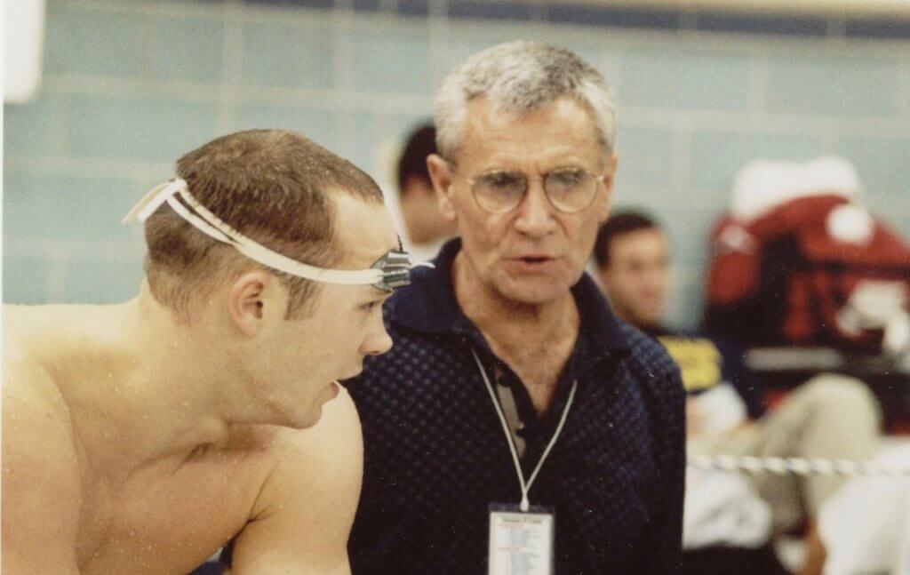 Jon Urbanchek 1997 NCAA by Bill Collins (1)