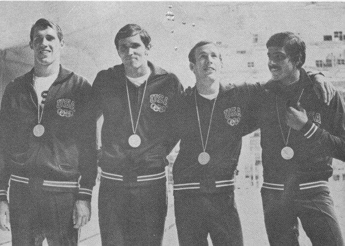 spitz R 1972 4x100 free relay team