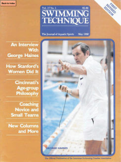 Swimming Technique May 1980 Cover