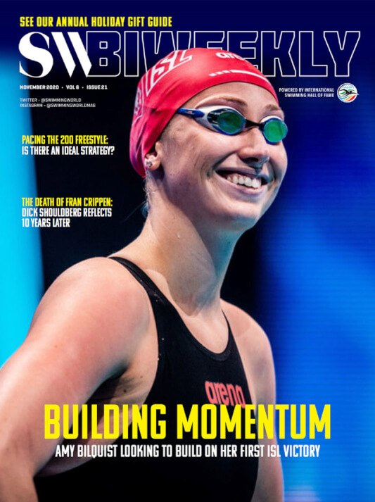SW Biweekly - Amy Bilquist Looking To Build On Her First ISL Victory - Cover