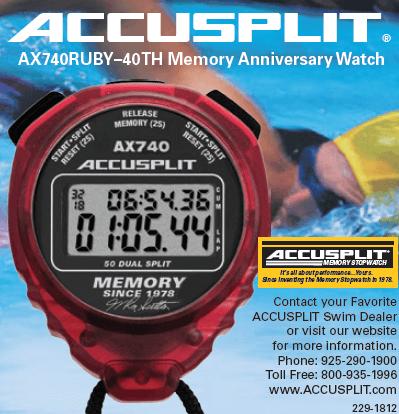 Accusplit AX740 Ad