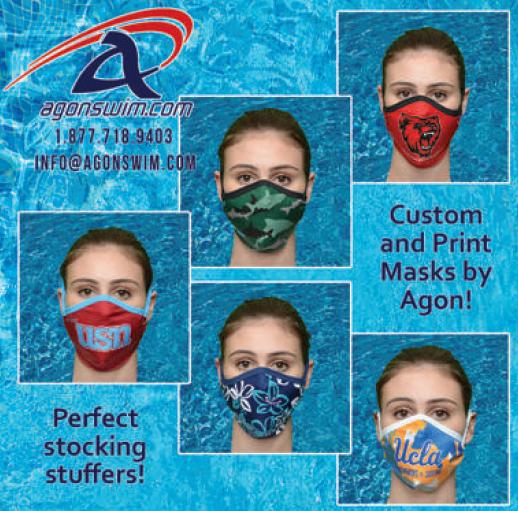 Agon swim masks ad