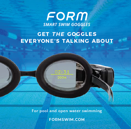 Form Swim Smart Goggles ad 2020