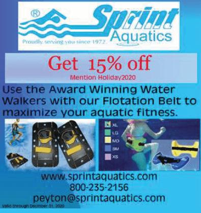 Sprint Aquatics ad December