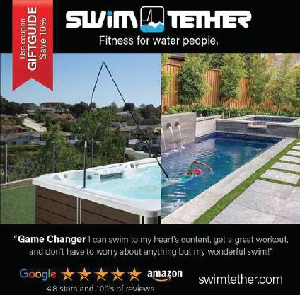 Swim Tether ad 2020