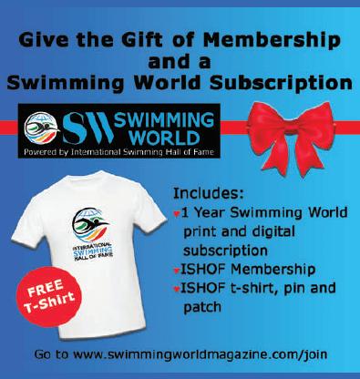 Swimming World Subscriptions ad 2020