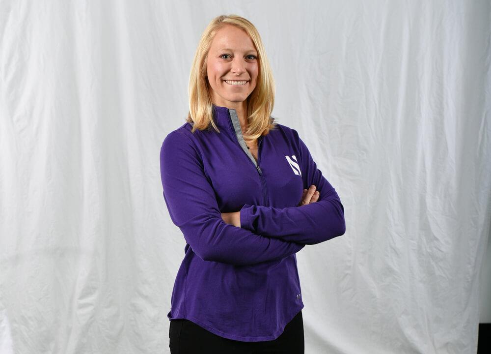 Swimming World January 2021 - Q and A with Northwestern Aquatics Coach Katie Robinson