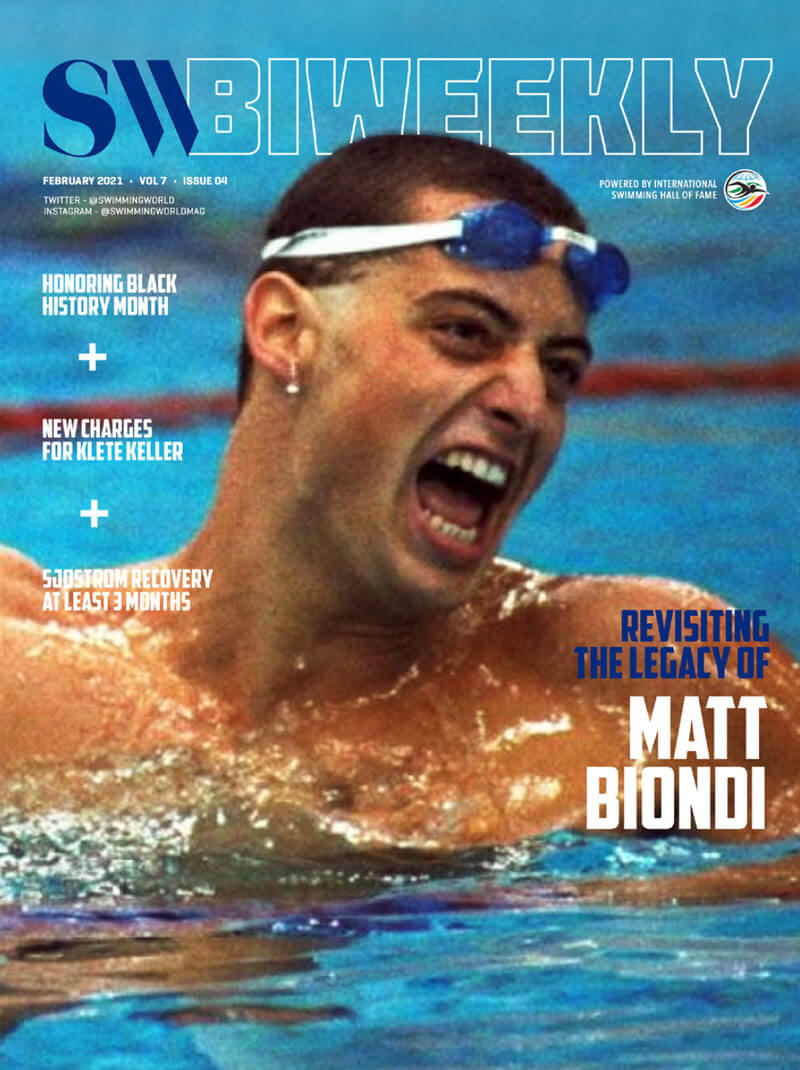 SW Biweekly 2-21-21 - Revisiting The Legacy of Matt Biondi - COVER