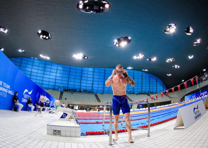 Adam Peaty; 14th April 2021, London Aquatics Centre, London, England ; 2021 British Swimming Selection Trials