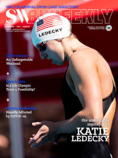 SW Biweekly 4-21-21 - The Unbeatable Mystique of Katie Ledecky - COVER