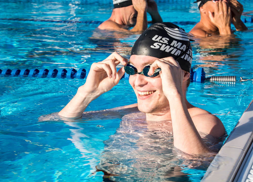 Swimming World April 2021 - A Pandemic Perspective From Masters Swimming