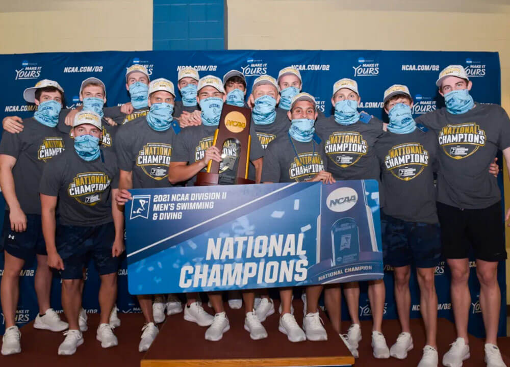 Swimming World June 2021 - 2021 NCAA Division II Review - Queens University