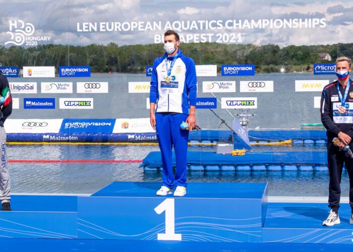 25k men podium 2021 European Championships