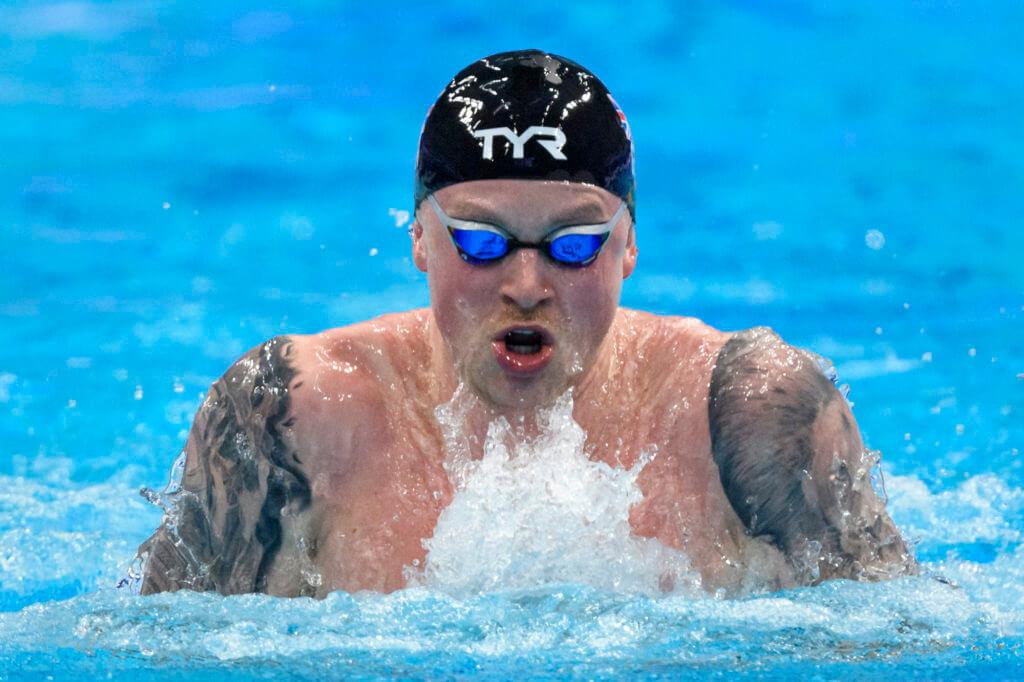 adam peaty, 2020 european championships, tokyo olympics