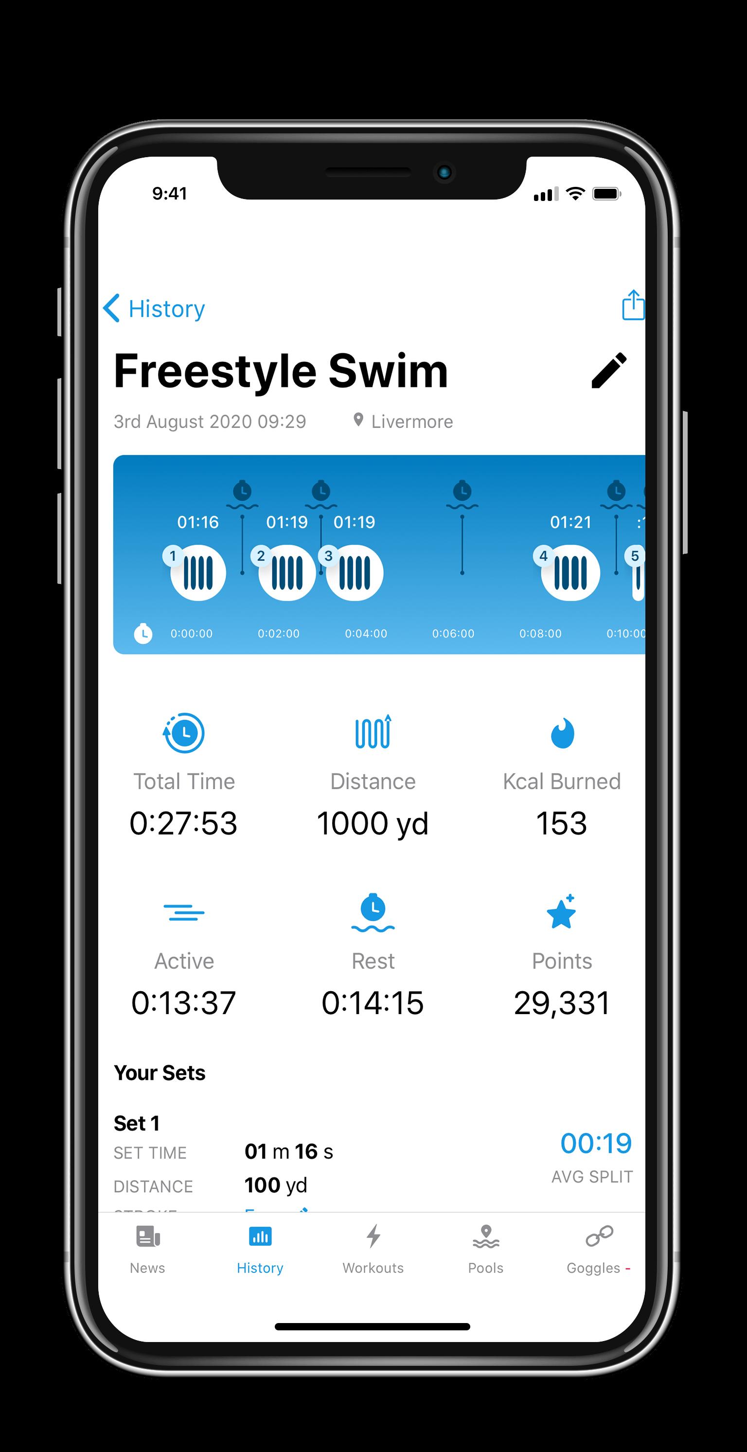 CiyeApp-WorkoutSummary