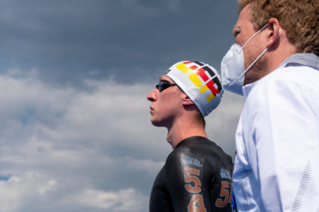 Florian wellbrock open water Budapest, Tokyo Olympics