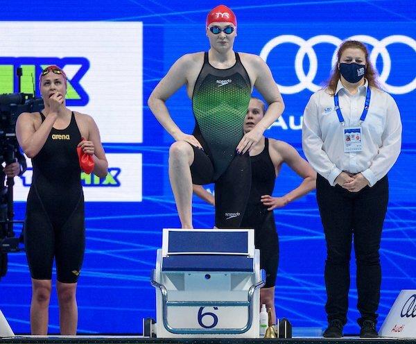 Freya Anderson 4x2 European Championships