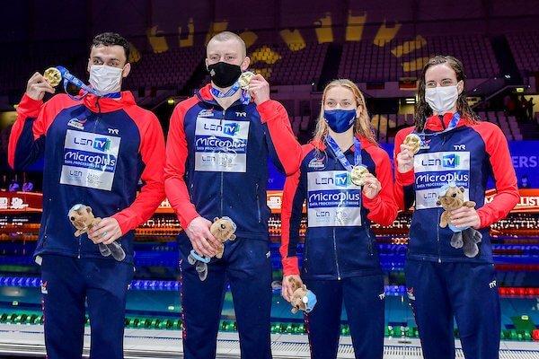 Great Britain mixed medley relay