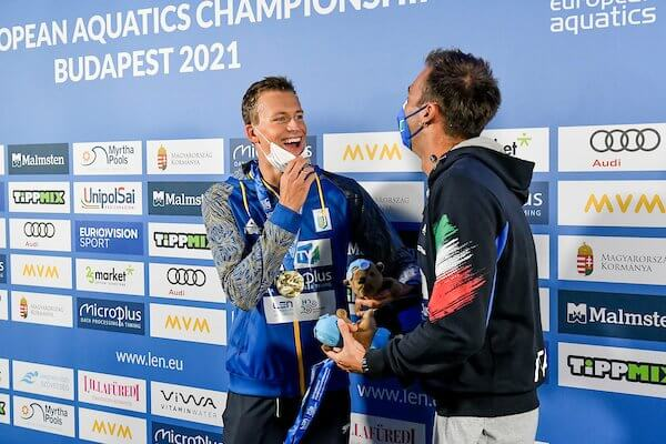 Mykhaylo Romanchuk Gregorio Paltrinieri 2021 European