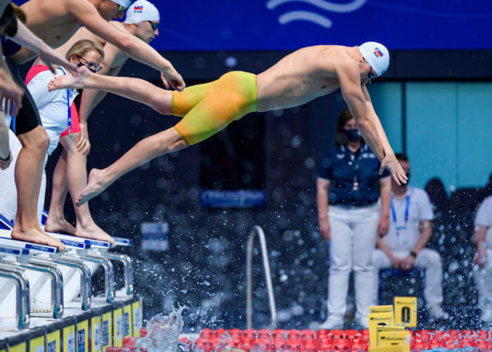 Russia relay gold European Championships