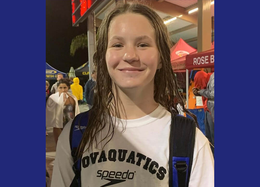 speedo-Swimming World May 2021 Up and Comers - Novaquatics Teagan O'Dell-speedo