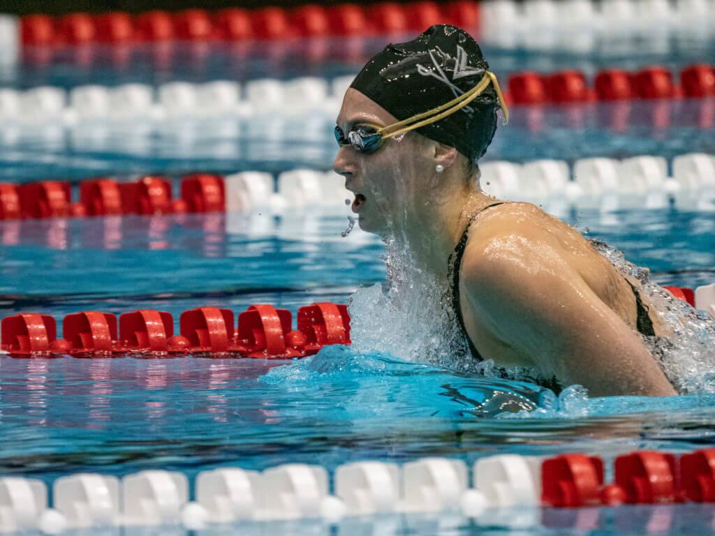alex-walsh, virginia, women's college swimming