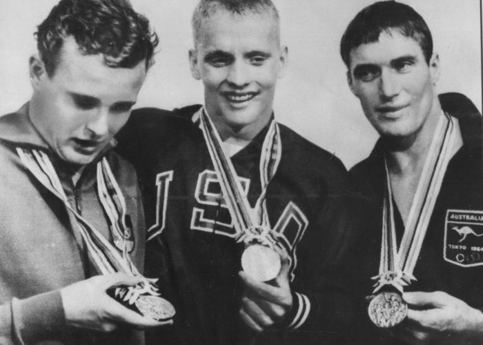 02 Schollander (1964 400 free Olympic medalists)--ISHOF