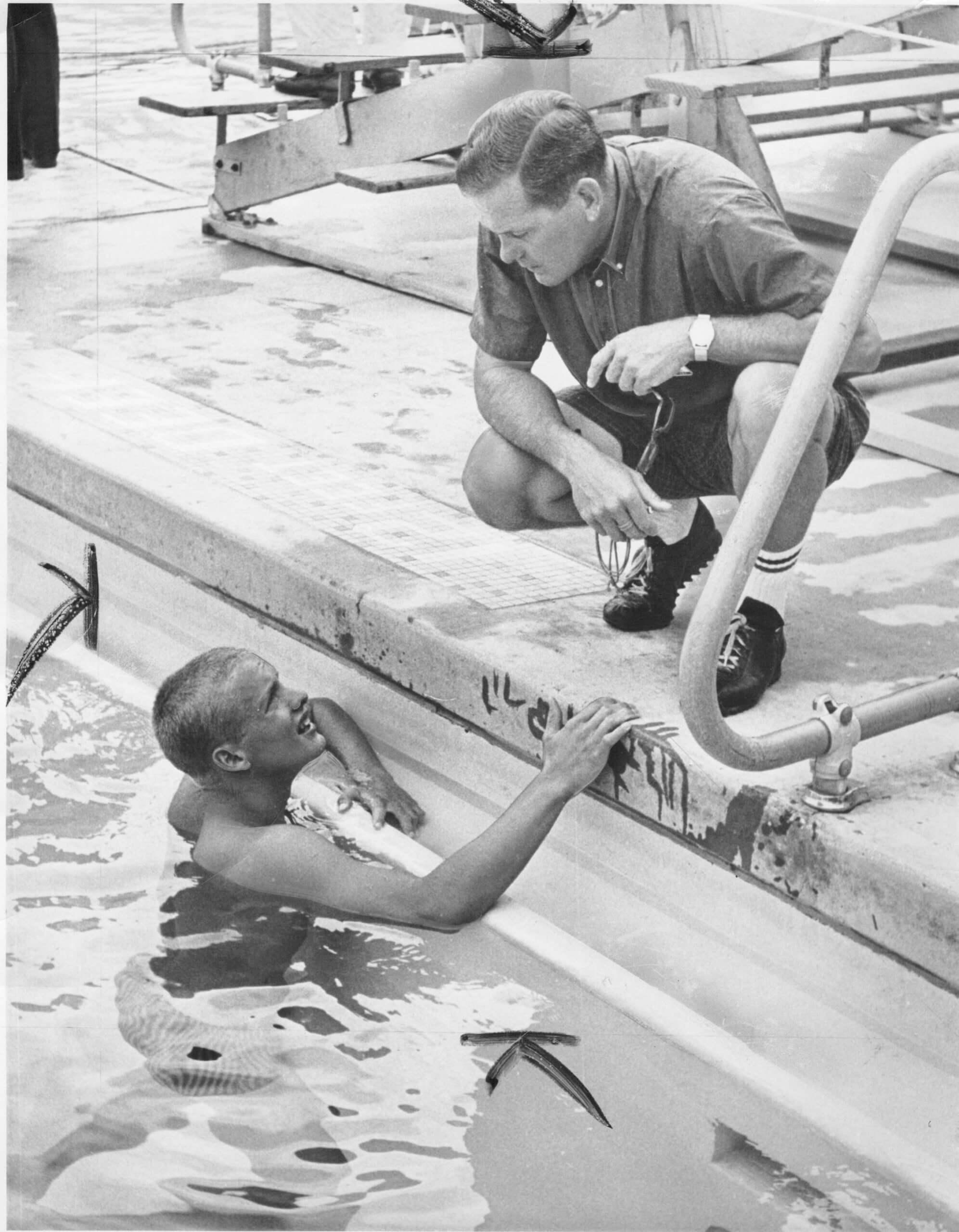 03 Schollander & Haines (1960s)--ISHOF